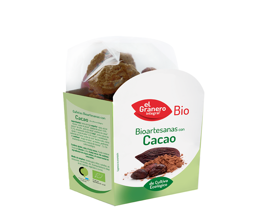 Galletas Artesanas con Chocolate Bio, 220 g 5