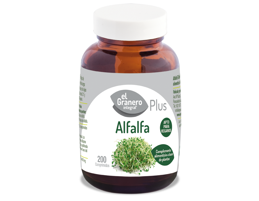 Alfalfa, 200 Comp. 400 mg 5