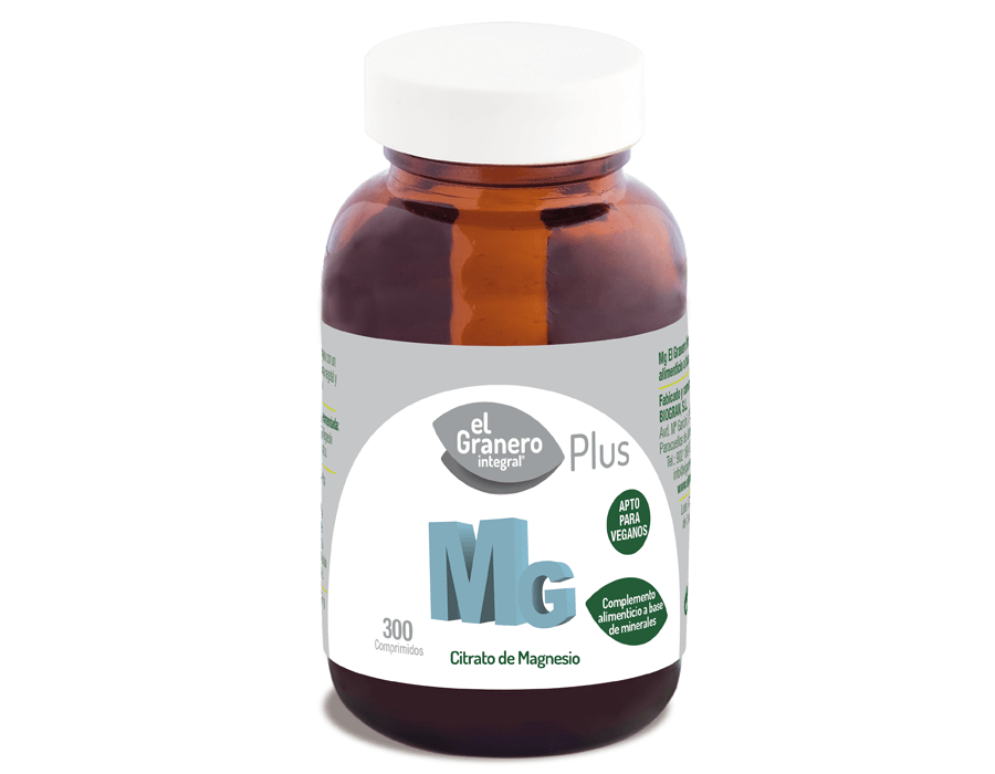 Mg 500 (Citrato de Magnesio), 300 Comp. 760 mg 5