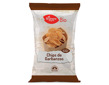 Chips de Garbanzos Bio, 80 g 5