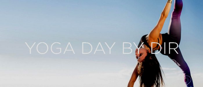 Sorteo 2 invitaciones para el Yoga Day by DiR 2019